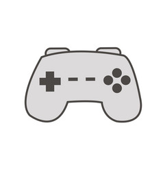 Gamepad console isolated vector
