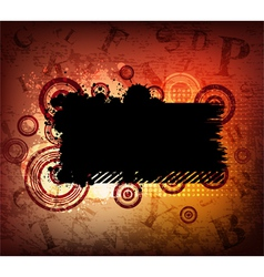 Grungy background vector