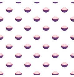 Mangosteen pattern seamless vector