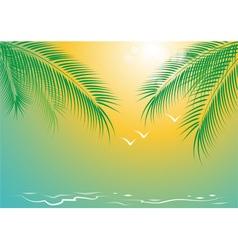 seacoast vector image