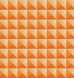 triangle orange jewel texture seamless background vector image