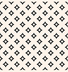 geometric seamless pattern with curved diamond vector image
