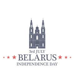 Independence day belarus vector