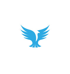 bird logo vector image