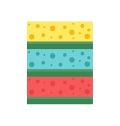Cleaning rag forhouse flat vector image