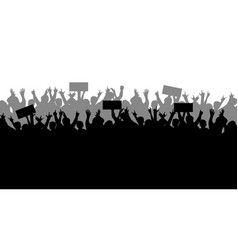 Concept protest and strike demonstration and vector