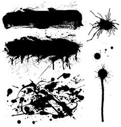 Ink symbol set vector