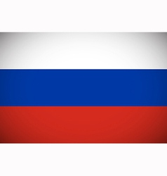 national flag russia vector image