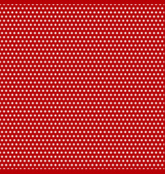 pattern seamless red in polka dot stylish design vector image