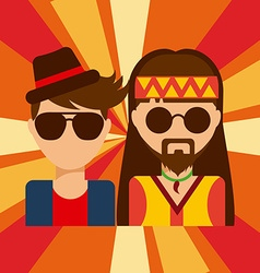 People lifestyle vector