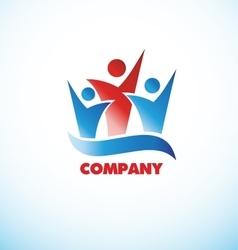 People logo vector image