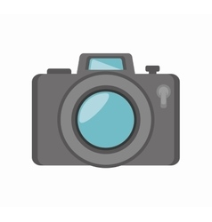 camera social media isolated icon design vector image vector image