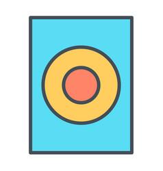 audio speaker thin line icon pictogram vector image