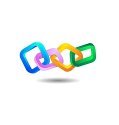 Chain logo vector