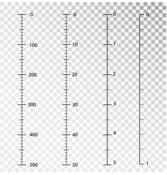 rulers measuring tool centimeters and vector image