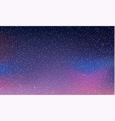 Star sky light starry night space background vector