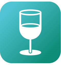 Unique soft drink glyph icon vector