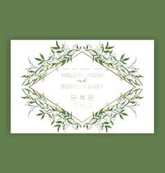 wedding salon internet shop floral landing page vector image