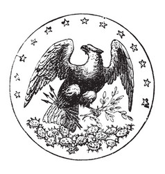 The official seal of the us state of florida in vector