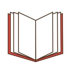 Open book read vector