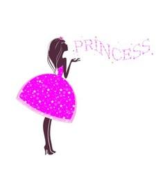 Star princess vector image