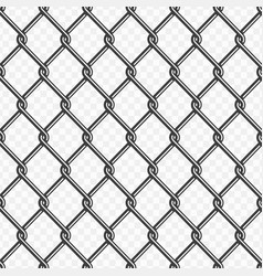 chain link fence background vector image