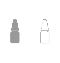 eye drops it is icon vector image