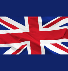 flag united kingdom vector image