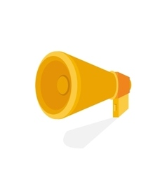 Horn Flat icon vector image
