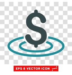 Money Area Icon vector