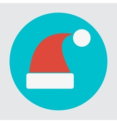 Santa hats icon vector image