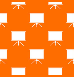 blank projection screen pattern seamless vector image vector image
