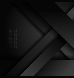 Abstract black stripes diagonal overlapping layer vector