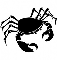 crab illustration vector image