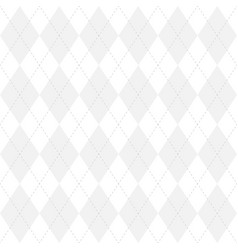 light grey argyle seamless pattern background vector image