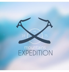 LogoClimbing equipment vector