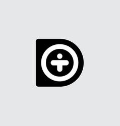 original lettering logotype vector image