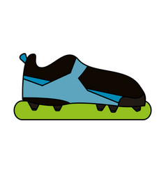 soccer shoes design vector image