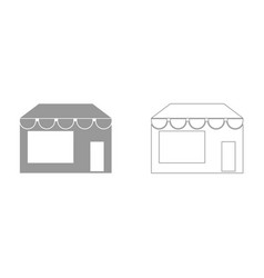 store it is icon vector image vector image