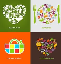 HealthyConc vector image vector image