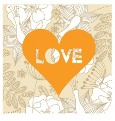 love background vector image vector image