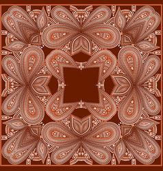 Bandana classy - traditional pattern vector