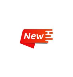 Bright new label vector