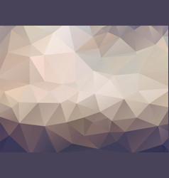 brown geometric mosaic background vector image