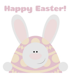 Card happy easter vector