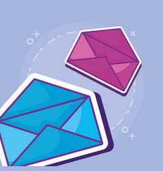 document folder design vector image