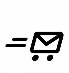 fast mail vector image