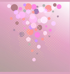 gradient background and sparkling stars vector image