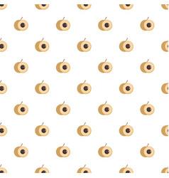 longan pattern seamless vector image