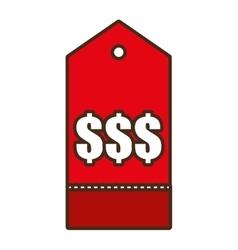 Price tag shop symbol icon design vector